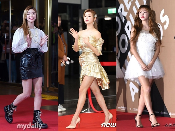 6 Gaya Mempesona YooA Oh My Girl di Acara Red Carpet
