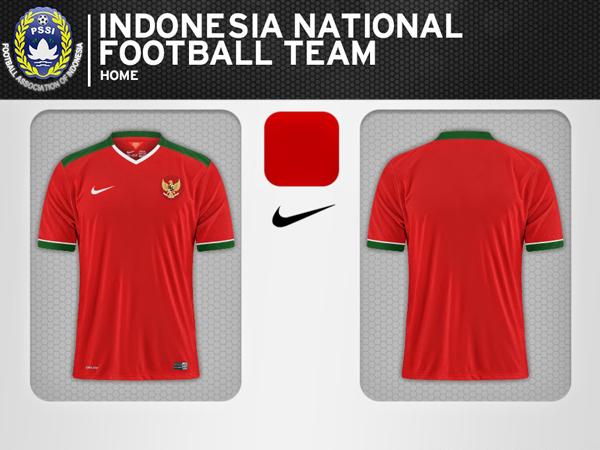 Jelang Piala AFF 2014, Ini Jersey Terbaru Timnas Indonesia!