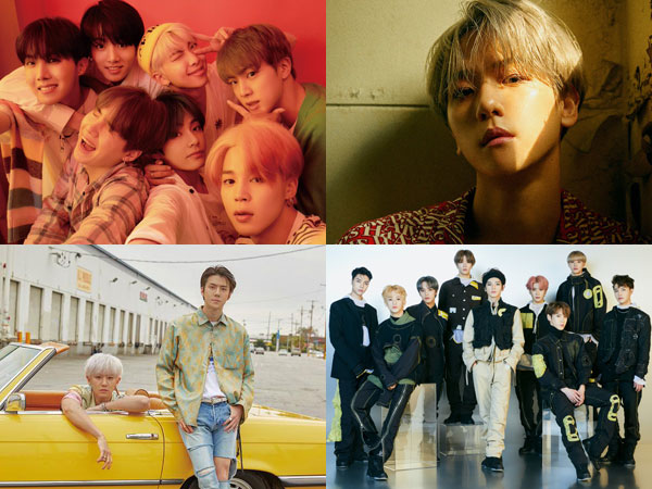 BTS Turun Peringkat, Artis SM Dominasi Chart Billboard World Albums Minggu Ini