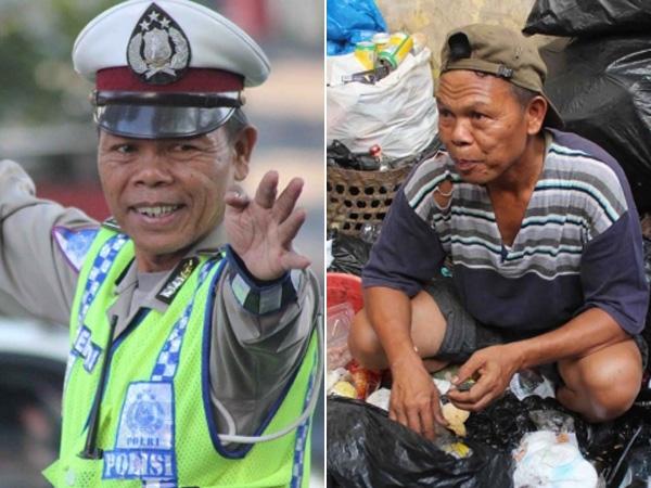 Mengenal Bripka Seladi, Polisi Anti-Suap yang Pilih Memulung Sampah