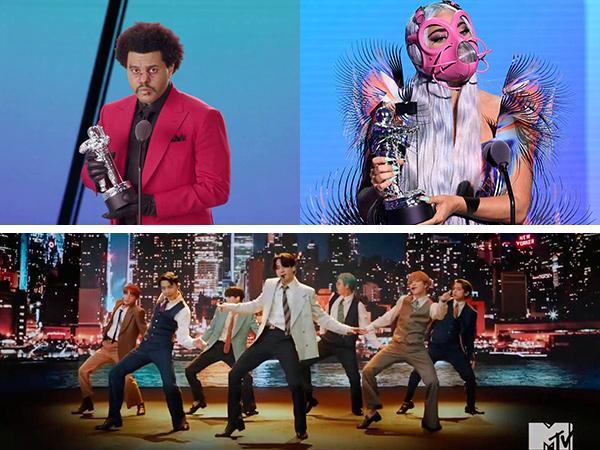 The Weeknd, Lady Gaga hingga BTS Bersinar, Ini Daftar Pemenang MTV VMA 2020