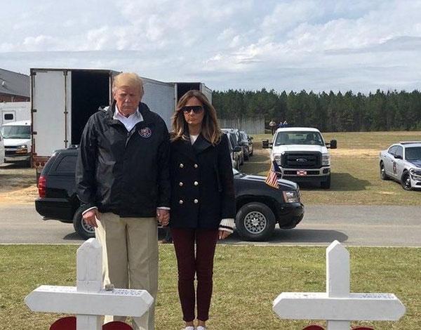 Tagar #FakeMelania Viral, Melania Trump Kembali Dituding Punya Kembaran Karena Video Ini