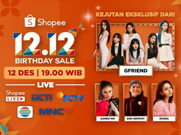 Shopee Kembali Suguhkan Kejutan Eksklusif dari GFRIEND di Shopee 12.12 Birthday Sale Live TV Show!