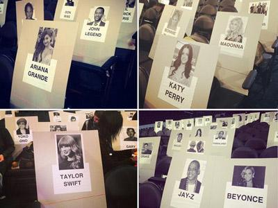 Yuk, Intip Seating Plan Para Artis di Grammy Awards 2014!