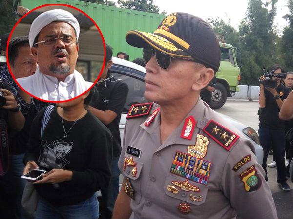 Kapolda Metro Jaya Siap Angkat Topi Jika Rizieq Shihab Lakukan Ini