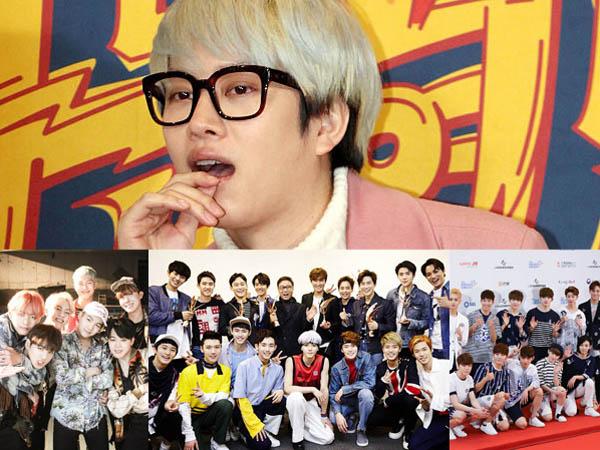 Siapa Saja Sih Boyband Favorit Remaja Saat Ini Menurut Heechul Super Junior?