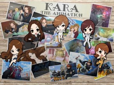 KARA The Animation, Serial Animasi Terbaru Para Member KARA