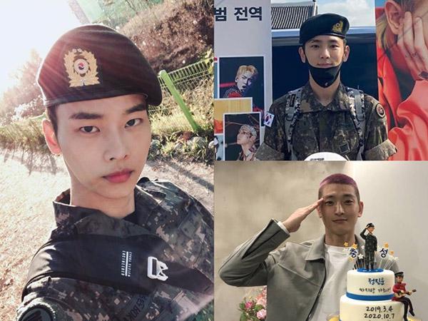 Key SHINee, Jinwoon 2AM, dan N VIXX Resmi Bebas Wajib Militer Hari Ini