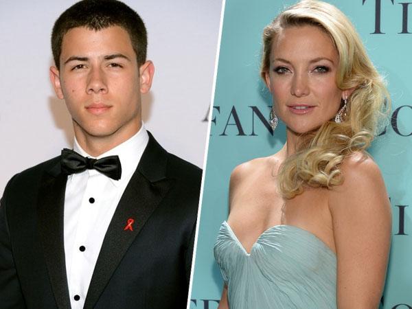 Beda Usia 13 Tahun, Nick Jonas Mantap Pacari Kate Hudson?