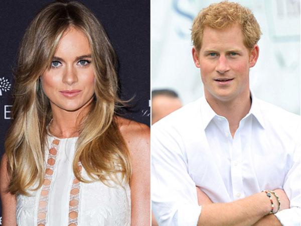 Cressida Bonas 'Tolak' Ajakan Nikah Pangeran Harry?