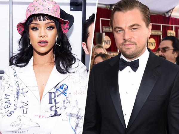 Hangout Bareng, Rihanna dan Leonardo DiCaprio Kencan di Coachella?