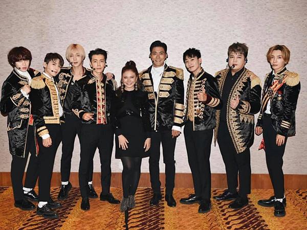 Rossa Kenang Konser Bareng Super Junior