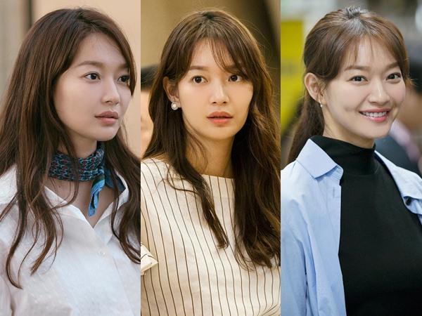 Denim vs White Top, Intip Gaya Busana Retro Ala Shin Min Ah di Drama 'Tomorrow With You'!