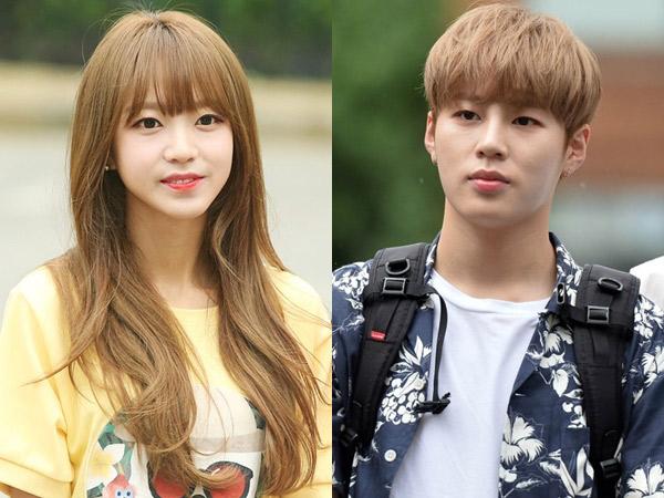 Tersebar Foto Kedekatan Kim Sohee dan Ha Sungwoon Wanna One Semasa Trainee