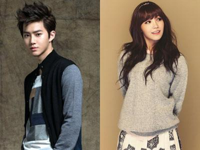 Suho EXO & Eunji A-Pink Akan Isi Suara Film 'Saving Santa'