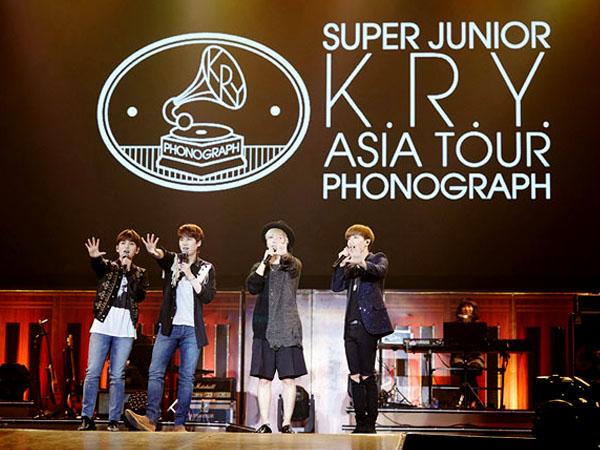 Yuk Intip Lagi Momen Tak Terlupakan Konser 'Phonograph' Super Junior K.R.Y di BSD Tangerang