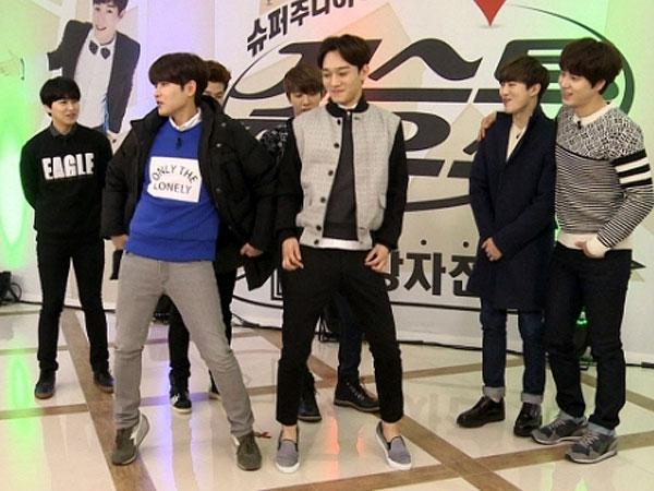 Suju-M dan EXO Adakan Dance Battle Girlgroup di 'Super Junior-M Guest House'