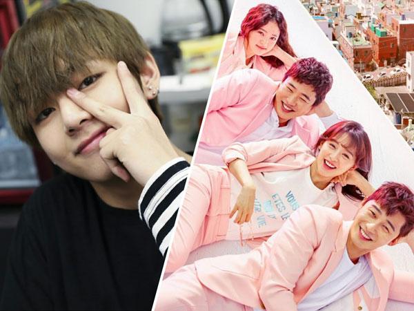 Aksi Kocak V BTS yang Tak Sabar Nantikan Kelanjutan Drama 'Fight My Way'