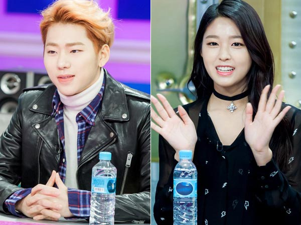 Dikonfirmasi Pacaran, Netizen Temukan Foto Lain Kebersamaan Zico Block B dan Seolhyun AOA