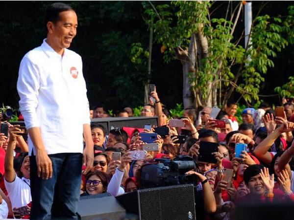 Video Viral Jokowi Ajak Relawan Siap Berantem: Ditonton yang Komplit Dong!