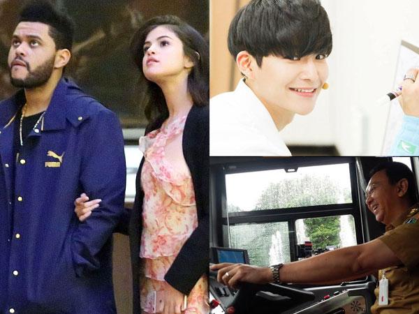 Kencan Romantis Selena-The Weeknd Hingga 'Om Telolet Om' Ala Ahok Jadi Berita Populer Minggu Ini