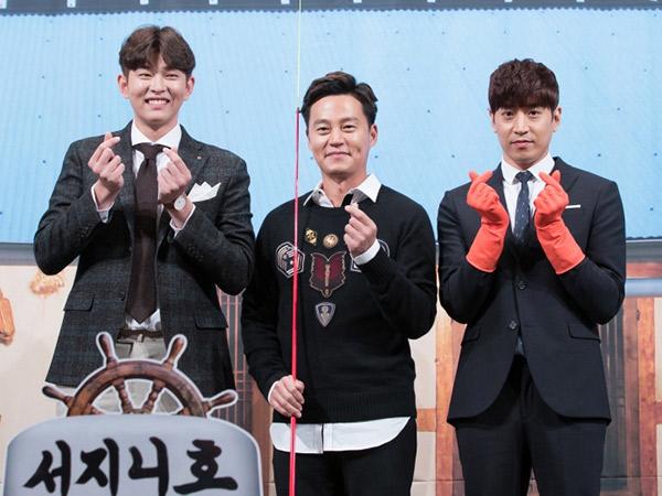 Eric Shinhwa dan Yoon Kyun Sang Temani Lee Seo Jin Lagi di Musim Terbaru 'Three Meals a Day'!