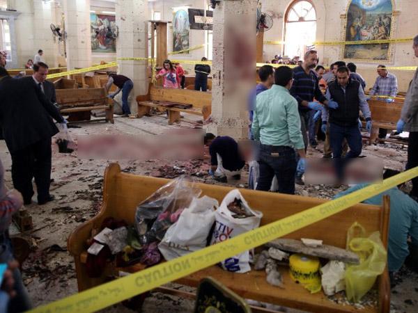 Sempat Disiarkan 'Live', Bom Bunuh Diri di Minggu Palma Mesir Sisakan Pemandangan Memilukan