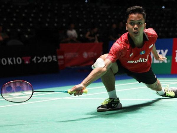 Yeay, Anthony Ginting Melaju Ke Babak Perempat Final Jepang Open 2018
