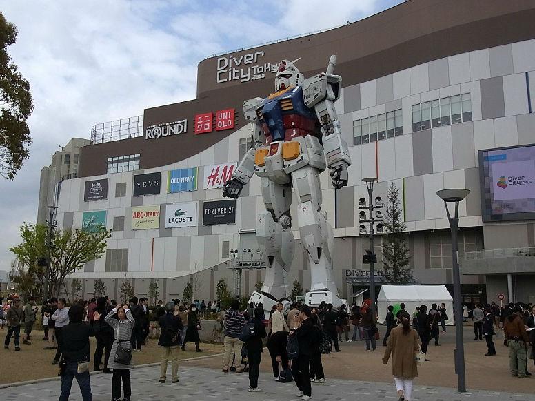 Asyik, Gundam Raksasa di Jepang Akan Bergerak!