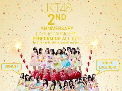JKT48 Siapkan Konser Spesial Rayakan 2nd Anniversary!
