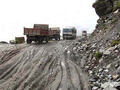 Rohtang Himalaya, Jalanan Paling Ekstrim di Dunia