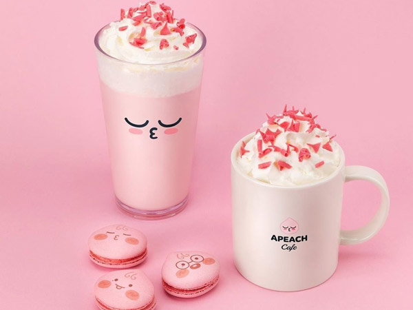 Kakao Friends Siapkan Menu Spesial Apeach Kang Daniel yang Super Gemas!