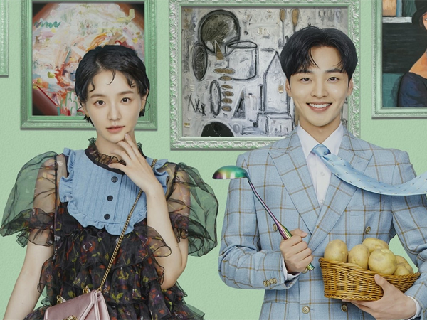 Pesona Kontras Namun Serasi Park Gyu Young dan Kim Min Jae di Poster Drama Baru