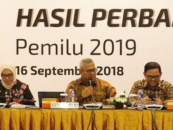KPU Himbau Para Paslon Pilpres 2019 Hadir Saat Penentuan Nomor Urut