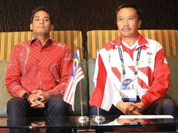 Pemerintah Malaysia Minta Maaf di Depan Menpora Soal Insiden Bendera Terbalik