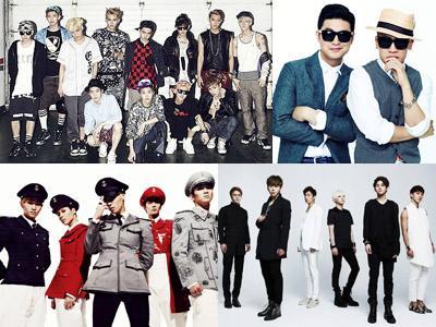 Ini Dia Para Idola K-Pop yang Dikonfirmasi akan Tampil di MelOn Music Awards 2013!