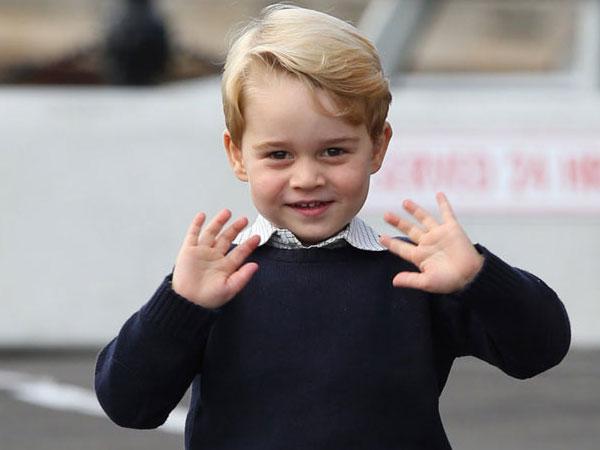 Pangeran George Tampak Gemas di Foto Perayaan Ulang Tahunnya yang Ke-4!