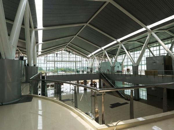 Mengintip Perkembangan Stasiun Kereta Bandara Soetta yang Dinantikan Mempermudah Warga