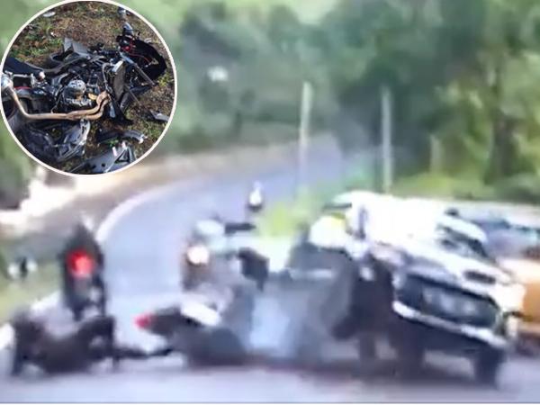 Heboh Video Kecelakaan Yamaha R25 VS Daihatsu Ayla Jadi Viral