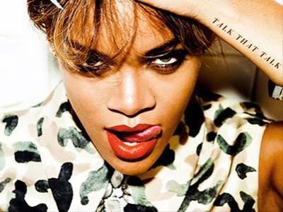 Talk That Talk Rihanna Sukses Rajai Inggris
