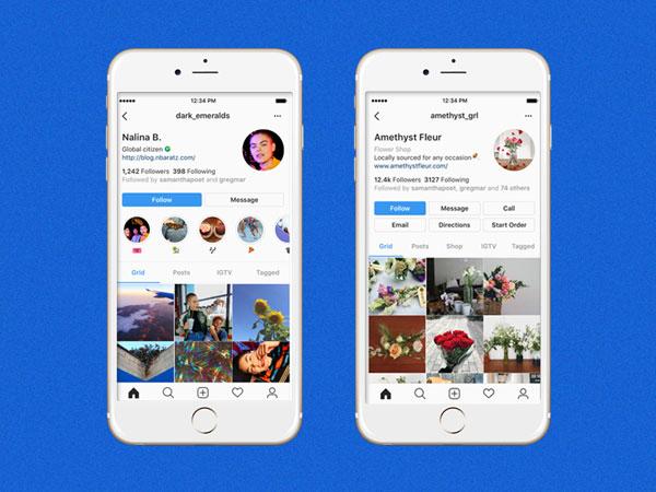 Instagram Uji Coba Tampilan Profil yang Baru, Begini Perubahannya