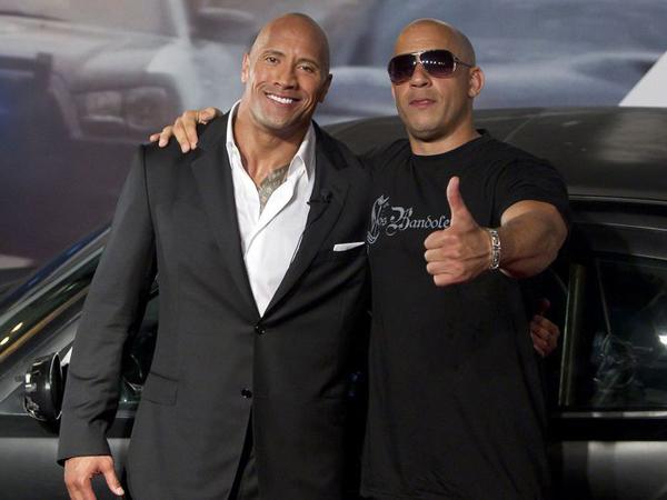 Sebut Lawan Main Pengecut di 'Fast 8', The Rock Tunjukan 'Curhat' Ini Untuk Vin Diesel?