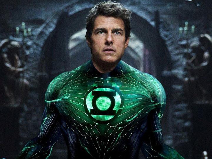 Wow, Rumor Viral Tom Cruise Akan Perankan Green Lantern dari DC Comics!