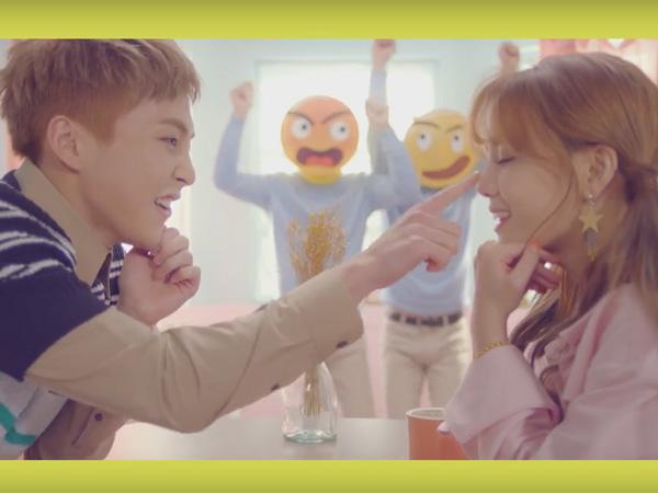 Jimin AOA dan Xiumin EXO Jalani Kencan Manis di Video Musik 'Call You Bae'!