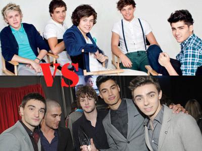 Dua Boyband Populer, One Direction dan The Wanted Siap Bersaing di Disney Music Awards