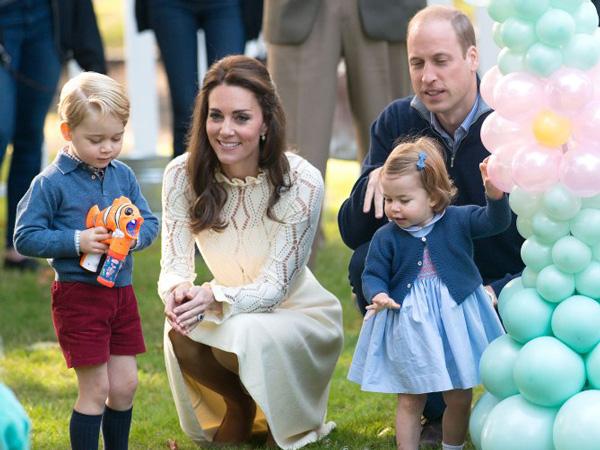 Bikin Gemas, Intip Gaya Busana Pangeran George dan Putri Charlotte!