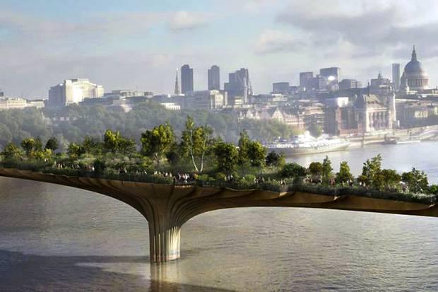 Wah, London Segera Bangun Jembatan Pejalan Kaki Termahal di Dunia!