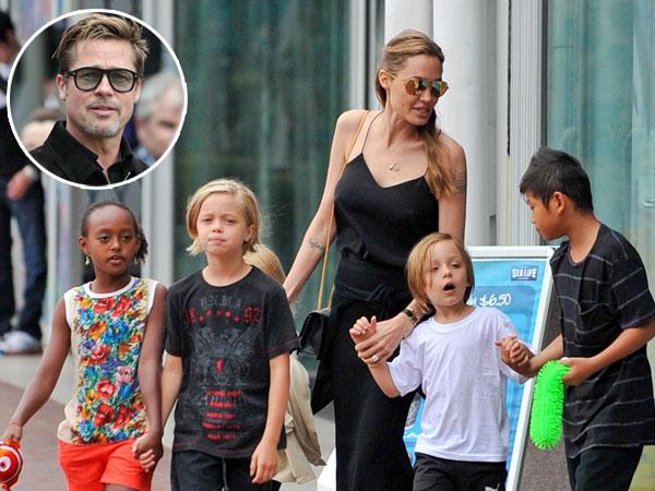 Angelina Jolie Sengaja Tak Undang Brad Pitt di Acara Thanksgiving?