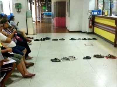 Thailand Punya Cara Antri yang Bikin Tertawa