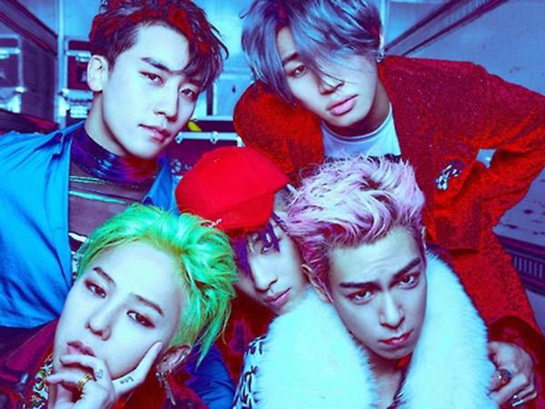 Big Bang Sukses Dominasi Chart Lokal Hingga Internasional Tanpa Promosi dan MV!